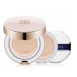 Тональный крем со сменным блоком Missha Signature Essence Cushion Intensive Cover Special Set 21+21(R)+Puff