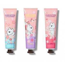Крем для рук парфюмированный The Saem Over Action Little Rabbit Perfuemd Hand Velvet Cream