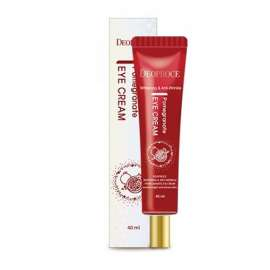 Крем для глаз антивозрастной Deoproce Whitening And Anti-Wrinkle Pomegranate Eye Cream